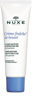 Nuxe Crème Fraîche de Beauté cuidado hidratante matificante para pieles mixtas