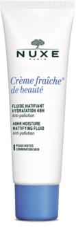 Nuxe Crème Fraîche de Beauté soin hydratant matifiant pour peaux mixtes