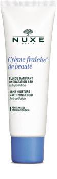 Nuxe Crème Fraîche de Beauté zmatňujúca hydratačná starostlivosť pre zmiešanú pleť