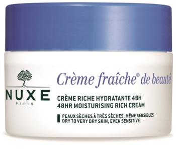 Nuxe Crème Fraîche de Beauté hidratantna i hranjiva krema za suhu i vrlo suhu kožu lica