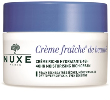 Nuxe Crème Fraîche de Beauté Moisturizing and Nourishing Cream for Dry and Very Dry Skin