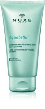 Nuxe Aquabella gel detergente microesfoliante per uso quotidiano