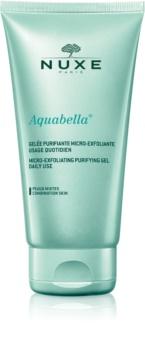 Nuxe Aquabella очищающий гель с микроотшелушивающими частицами для ежедневного использования