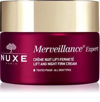 Nuxe Merveillance Expert crema de noche reafirmante  con efecto lifting