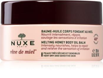 Nuxe Rêve de Miel balsam do ciała na bazie olejków dla skóry suchej i wrażliwej