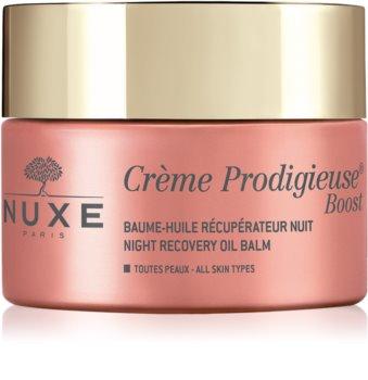 Nuxe Crème Prodigieuse Boost baume de nuit rénovateur effet régénérant