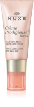 Nuxe Crème Prodigieuse Boost bálsamo em gel multicorretor  para o contorno dos olhos