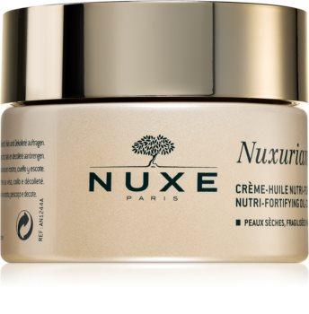 Nuxe Nuxuriance Gold tápláló olajat tartalmazó arckrém érett bőrre száraz bőrre