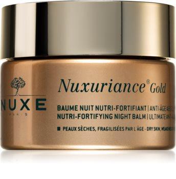 Nuxe Nuxuriance Gold vyživující noční balzám pro posílení pleti