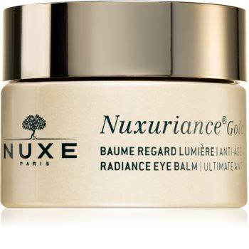 Nuxe Nuxuriance Gold rozjasňující oční balzám