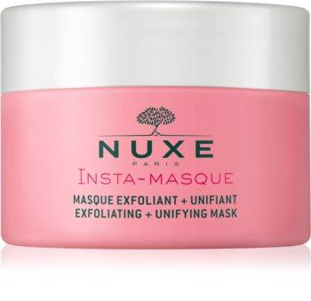 Nuxe Insta-Masque maschera esfoliante per unificare il tono della pelle