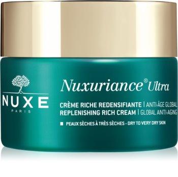 Nuxe Nuxuriance Ultra krema za popunjavanje za suhu i vrlo suhu kožu lica