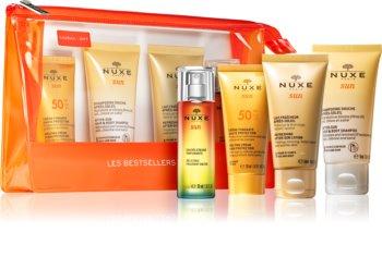Nuxe Sun kit de viagem III. (para bronzeamento ) para mulheres