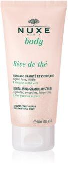 Nuxe Rêve de Thé revitalizační peeling na tělo