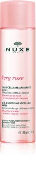 Nuxe Very Rose eau micellaire apaisante visage et yeux