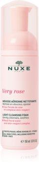 Nuxe Very Rose delikatna pianka oczyszczająca do wszystkich rodzajów skóry
