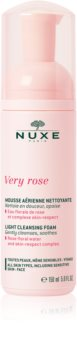 Nuxe Very Rose Gentle Cleansing Foam for All Skin Types