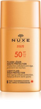 Nuxe Sun легкий захисний флюїд SPF 50