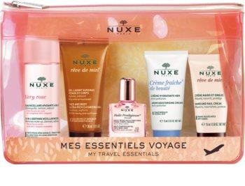 Nuxe Very Rose cestovní sada (pro ženy)