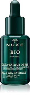 Nuxe Bio regenerierendes Serum für die Nacht für normale und trockene Haut