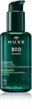 Nuxe Bio регенериращо масло за тяло за суха кожа
