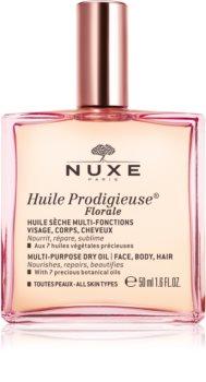 Nuxe Huile Prodigieuse Florale мультифункціональна суха олійка для обличчя, тіла та волосся