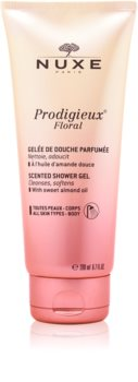 Nuxe Prodigieux Floral sprchový gel s mandlovým olejem