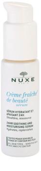 Nuxe Crème Fraîche de Beauté pomirjujoči vlažilni serum za vse tipe kože, vključno z občutljivo kožo