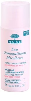 Nuxe Cleansers and Make-up Removers micelarna voda za čišćenje za osjetljivo lice i oči