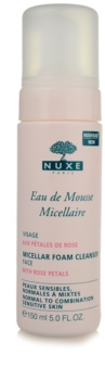 Nuxe Cleansers and Make-up Removers Micellar Foam Cleanser For Normal To Mixed Skin