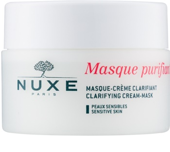 Nuxe Cleansers and Make-up Removers maschera detergente per pelli sensibili