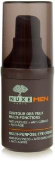 Nuxe Men crema contur pentru ochi  împotriva ridurilor și a cearcănelor întunecate