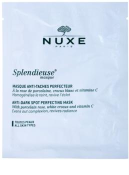 Nuxe Splendieuse mascarilla contra problemas de pigmentación