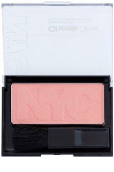 NYC Cheek Glow blush com pincel