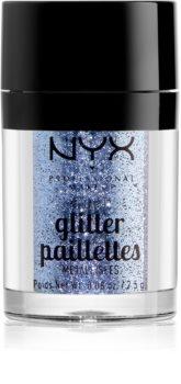 NYX Professional Makeup Glitter Goals paillettes visage et corps effet métallisé