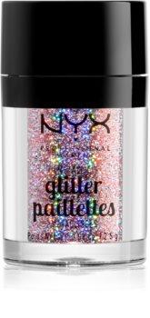 NYX Professional Makeup Glitter Goals металически брокат за лице и тяло