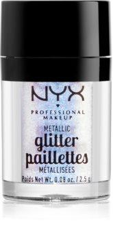 NYX Professional Makeup Glitter Goals metalické třpytky na obličej a tělo