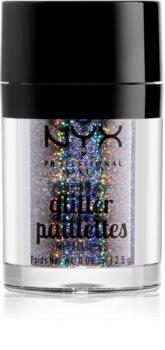 NYX Professional Makeup Glitter Goals sclipici metalic pentru față și corp