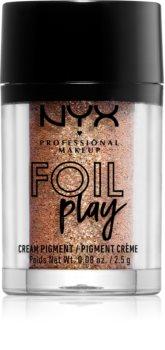 NYX Professional Makeup Foil Play Csillogó pigment