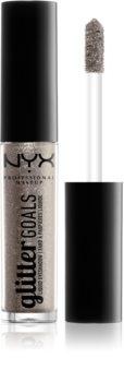 NYX Professional Makeup Glitter Goals fard à paupières liquide pailleté