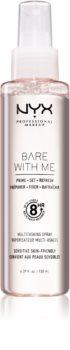 NYX Professional Makeup Bare With Me Prime-Set-Refresh Multitasking Spray лек мултифункционален спрей