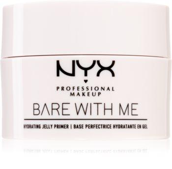 NYX Professional Makeup Bare With Me Hydrating Jelly Primer prebase de maquillaje con textura de gel