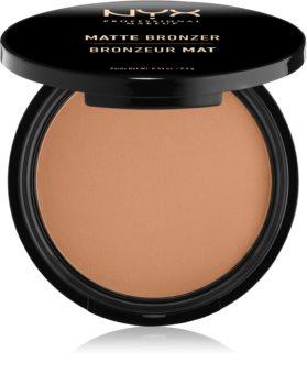 NYX Professional Makeup Matte Bronzer bronzosító