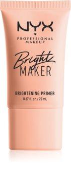 NYX Professional Makeup Bright Maker élénkítő sminkalap a make - up alá