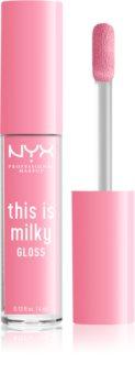 NYX Professional Makeup This is Milky Gloss hidratáló ajakfény
