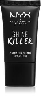 NYX Professional Makeup Shine Killer Matt primer alapozó alá