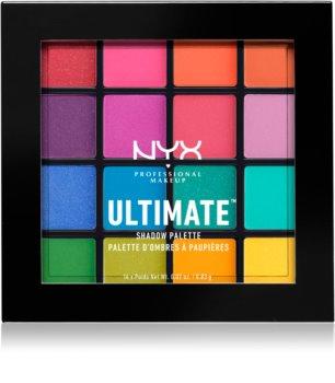 NYX Professional Makeup Ultimate Shadow szemhéjfesték paletta