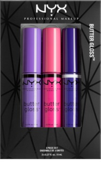NYX Professional Makeup Butter Gloss Cosmetic Set I. for Women