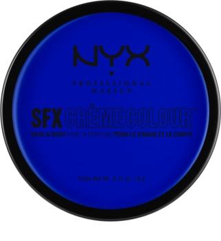 NYX Professional Makeup SFX Creme Colour™ make-up na tvár a telo