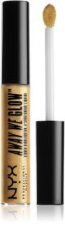 NYX Professional Makeup Away We Glow folyékony bőrélénkítő